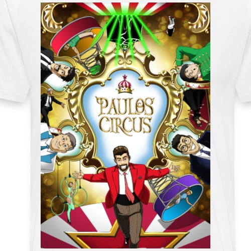 Paulos Circus 2018 Tour - Men's Premium T-Shirt