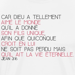 Jean 3 16 - T-shirt Premium Homme