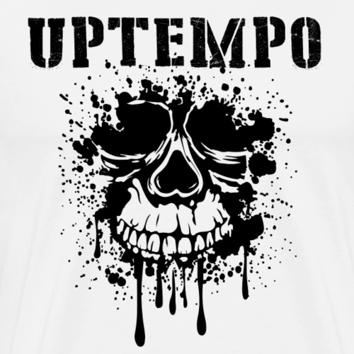 UPTEMPO (black design) - Männer Premium T-Shirt