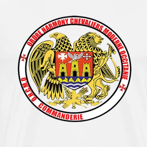 logo simple commanderie - T-shirt Premium Homme