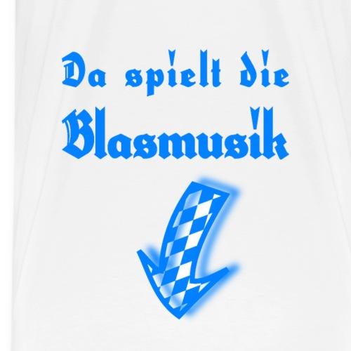 Witzige Oktoberfest Kleidung für MÄNNER! Blasmusik - Männer Premium T-Shirt