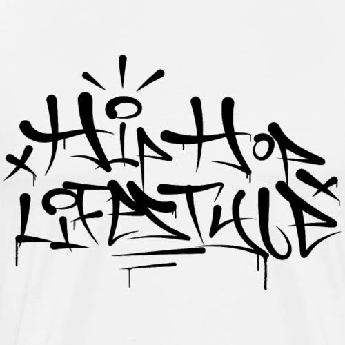 Hip Hop Lifestyle Graffiti Tag 001 - Männer Premium T-Shirt