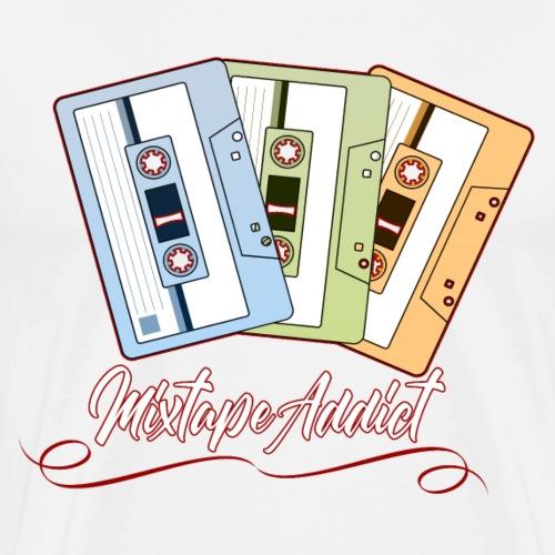 Mixtape Addict - T-shirt Premium Homme
