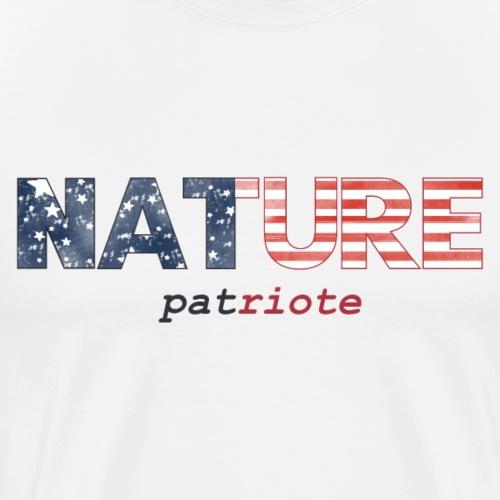 Nature Patriote - T-shirt Premium Homme