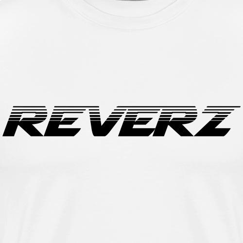 REVERZ LOGO FADING - Männer Premium T-Shirt