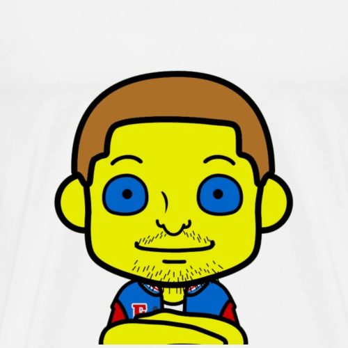 Gelbe Kreatur - Männer Premium T-Shirt
