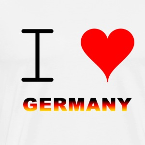 GERMANY / GERMANY - Herre premium T-shirt