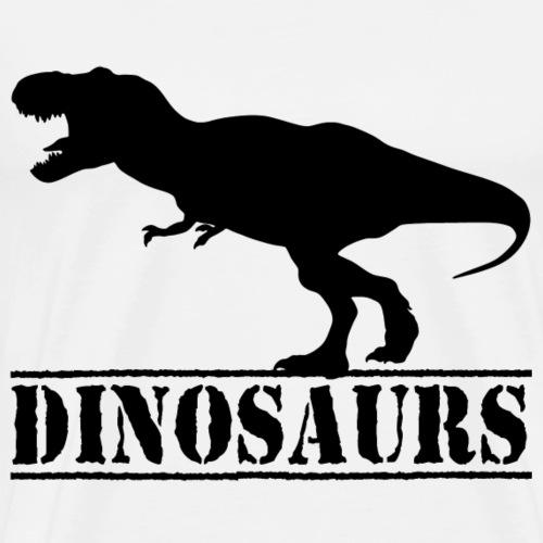 Tyrannosaurus Rex Dinosaurier - Männer Premium T-Shirt