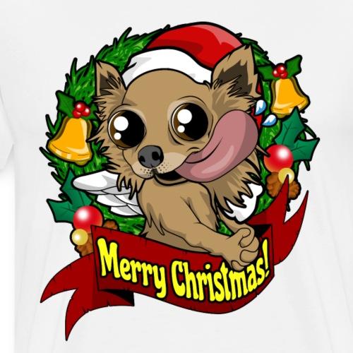 Chihuahua süß perfektes Geschenk für Weihnachten - Männer Premium T-Shirt