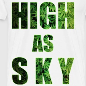 Haut comme Sky Weed Conception - T-shirt Premium Homme