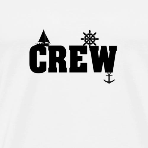Boot, Crew, Bootscrew, Geschenk, Geschenkidee - Männer Premium T-Shirt