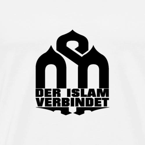 BLACK - DIV - Männer Premium T-Shirt