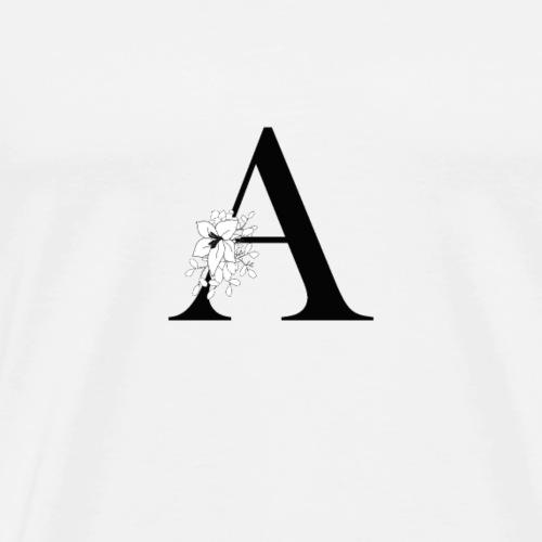 Elegance Flower A - Männer Premium T-Shirt
