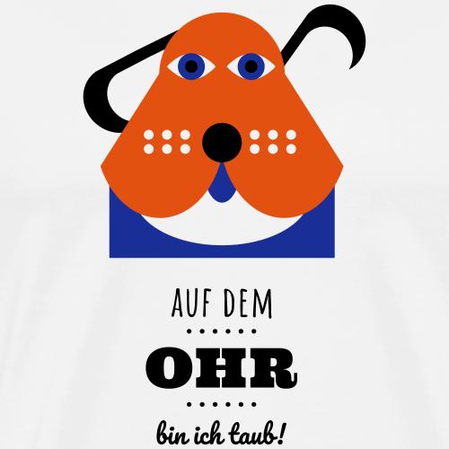 Bernie-hört-nix - Männer Premium T-Shirt