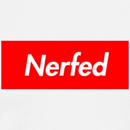 Nerfed Box Logo - Men's Premium T-Shirt