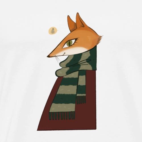 Winterfuchs - Männer Premium T-Shirt