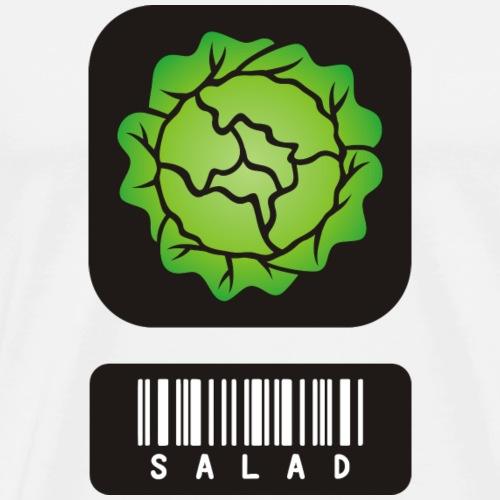 Salad QR Code I Gift - Men's Premium T-Shirt