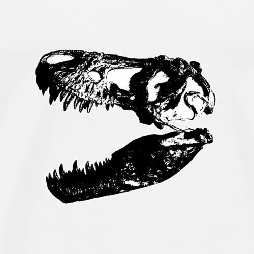 Tyrannosaurus Rex Schädel T-rex - Männer Premium T-Shirt