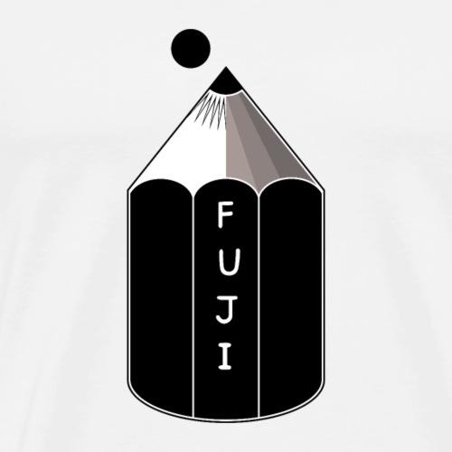 Pencil Mount Fuji - Men's Premium T-Shirt