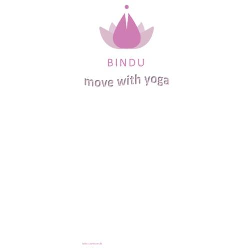 Bindu Yoga - Männer Premium T-Shirt
