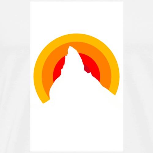 Panda1 Matterhorn - Men's Premium T-Shirt