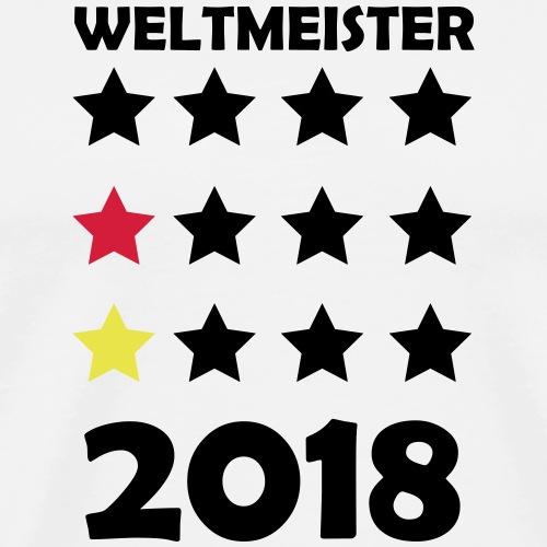 Weltmeister Fussball DE 2018 WM 1 - Männer Premium T-Shirt