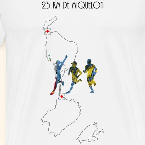 25 km de Miquelon - T-shirt Premium Homme