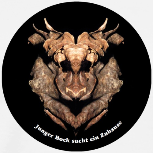 235d Kalle der junge Bock - Männer Premium T-Shirt