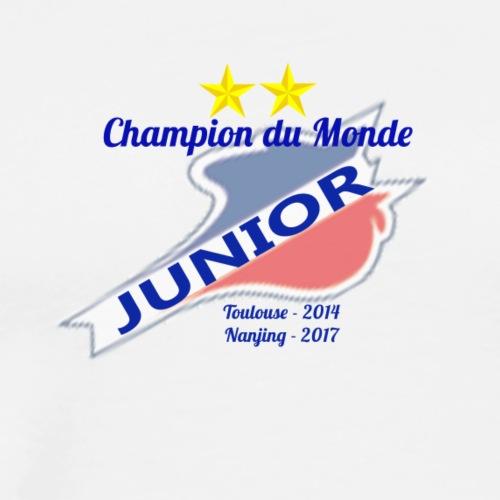 Champion du monde Junior - T-shirt Premium Homme