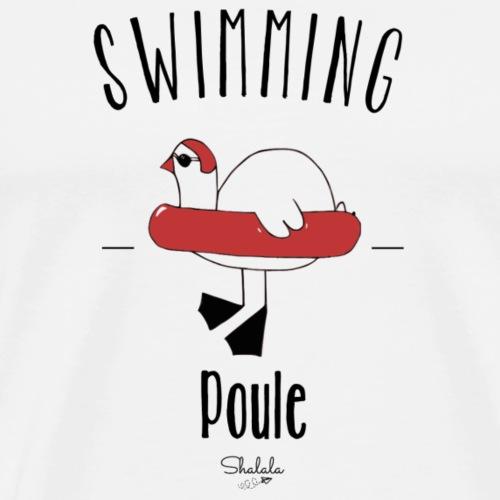 Swimming Poule - T-shirt Premium Homme