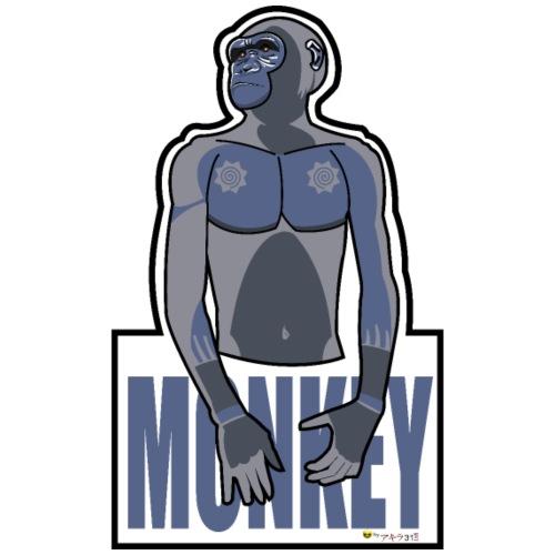 Monkey - Camiseta premium hombre
