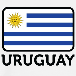 National Flag Of Uruguay - Men's Premium T-Shirt