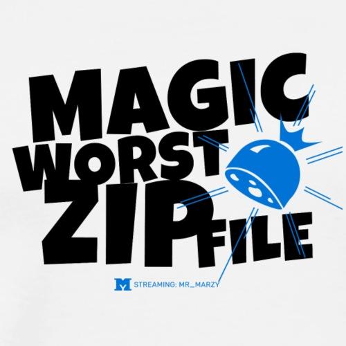 Magische Wurstzipfel! (Light) - Männer Premium T-Shirt