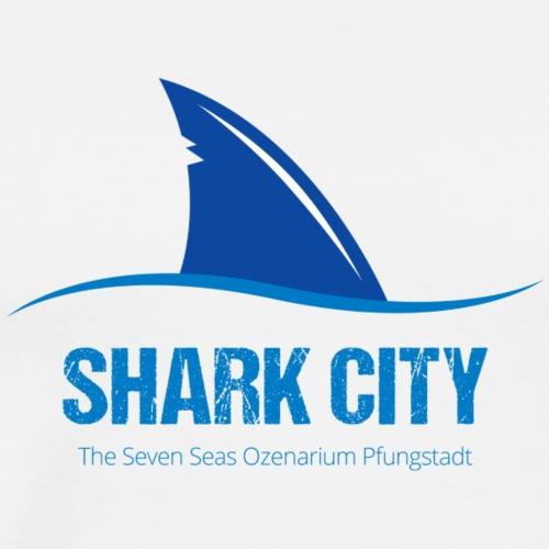 SharkCity TShirt SharkCityLogo - Männer Premium T-Shirt