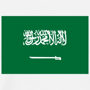 National Flag Of Saudi Arabia - Herre premium T-shirt