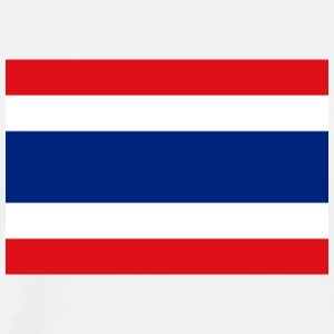 National Flag Of Thailand - Herre premium T-shirt