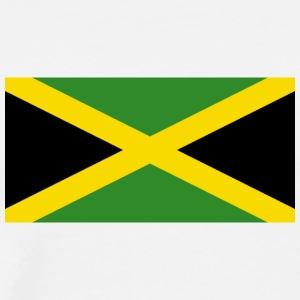 National Flag Of Jamaica - Herre premium T-shirt