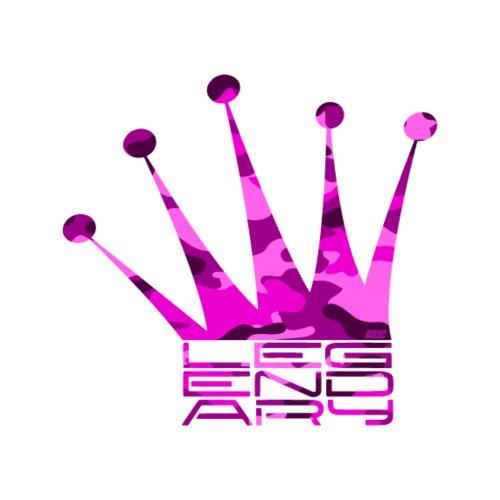 Legendary Crown - Pink Camo Edition - Männer Premium T-Shirt