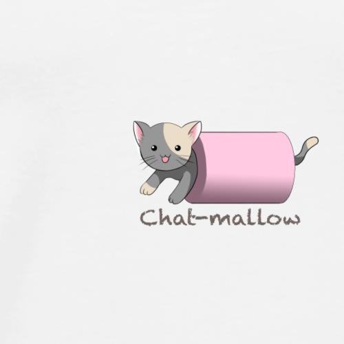 Chat-mallow - T-shirt Premium Homme