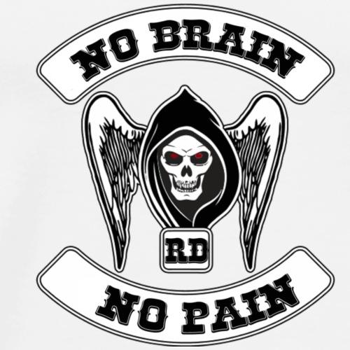 RBNDLX SHIRT - MC LOGO WITH SENTENCE - Männer Premium T-Shirt