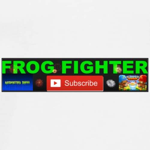 frogfighters t-shirt with logo - Men's Premium T-Shirt