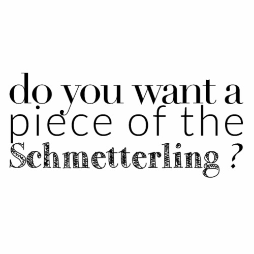 Schmetterling - Men's Premium T-Shirt
