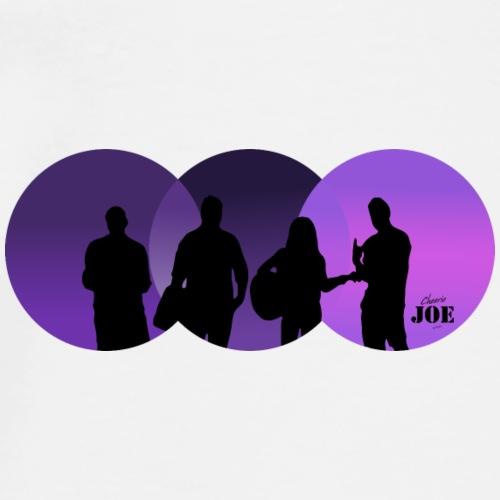 Motiv Cheerio Joe violett - Männer Premium T-Shirt