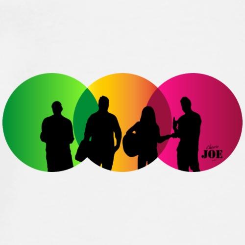 Motiv Cheerio Joe neon rasta - Männer Premium T-Shirt