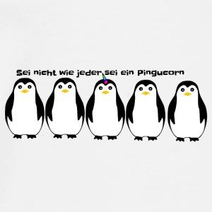 Pingucorn das Pinguin EInhorn - Männer Premium T-Shirt