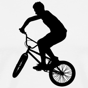 BMX / Bike Design for skatere og syklister - Premium T-skjorte for menn