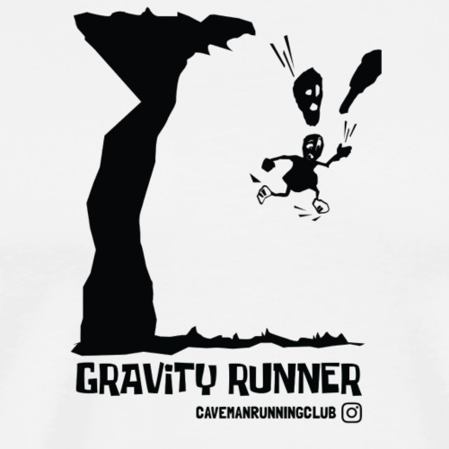 GRAVITY RUNNER - Men's Premium T-Shirt