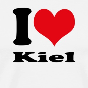 I love Kiel - Men's Premium T-Shirt