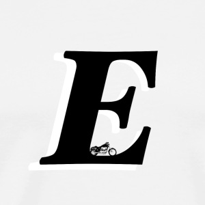 E alphabet - Men's Premium T-Shirt