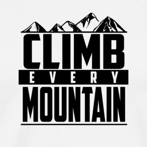 Climb every mountain - Men's Premium T-Shirt